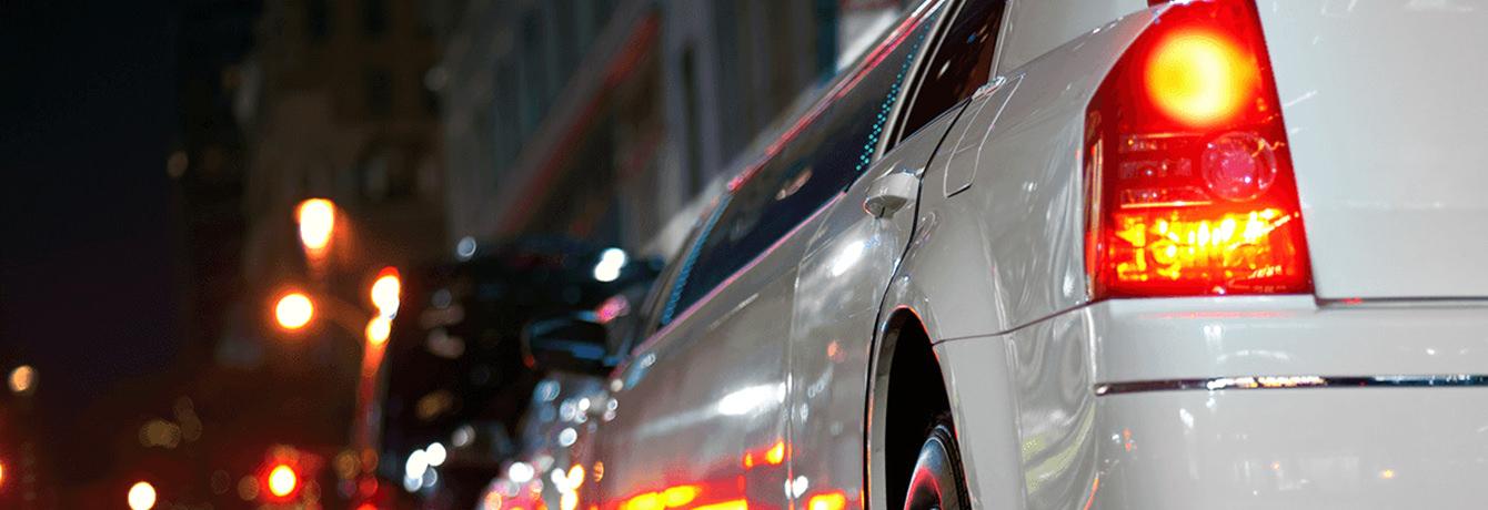 Witte Chrysler Limousine